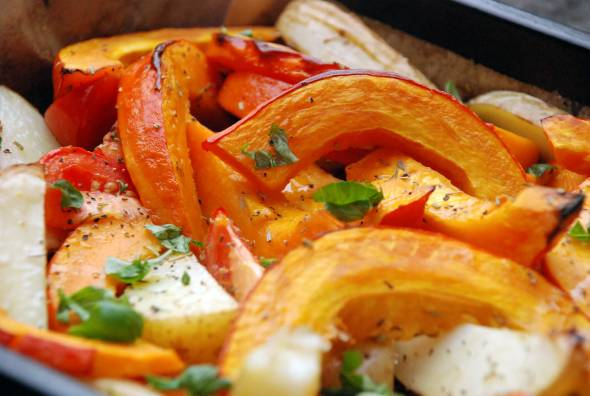 Oven Roasted Veg - now doesn't that look yummy?!